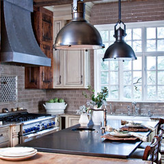 traditional kitchen by sherry hart