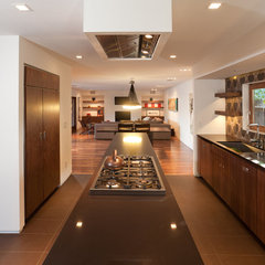 modern kitchen by Popp Littrell Architecture + Interiors