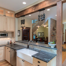 Contemporary Kitchen by Damon Searles Photography