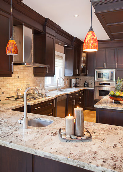 Transitional Kitchen by Nicola Interiors