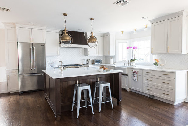 Transitional Kitchen by AHD & Co