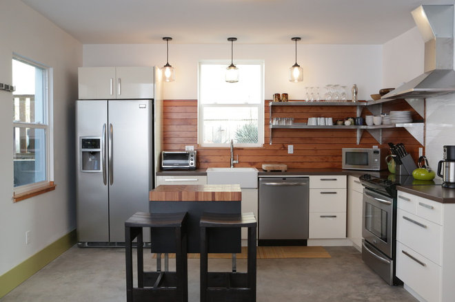 Contemporary Kitchen by Encircle Design and Build