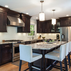 Transitional Kitchen by Bath & Kitchen Company