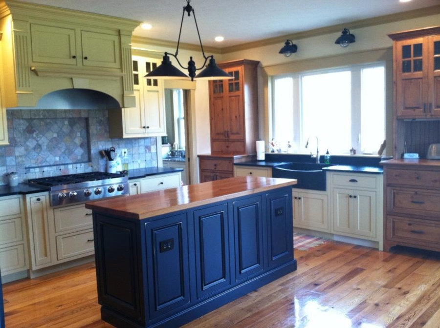 Shiloh Cabinetry - SW Cupola Yellow Custom Color