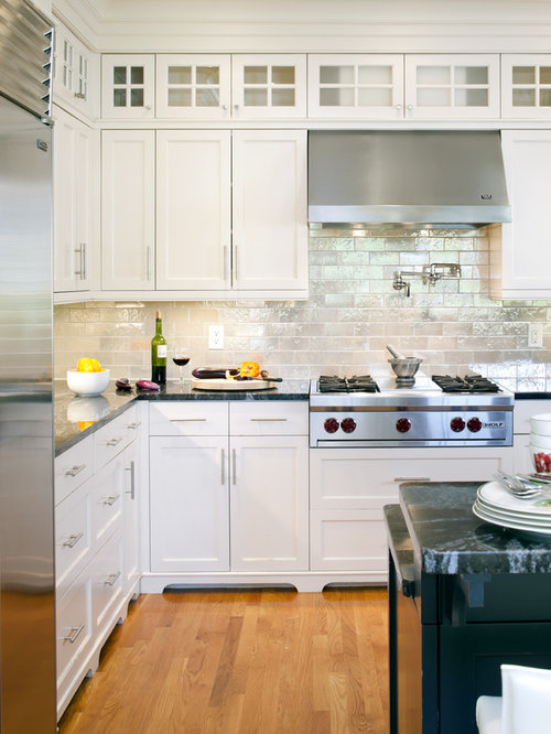 Exceptionnel Victorian Kitchen Remodeling   Inspiration For A Victorian Kitchen Remodel  In Boston With Recessed Panel