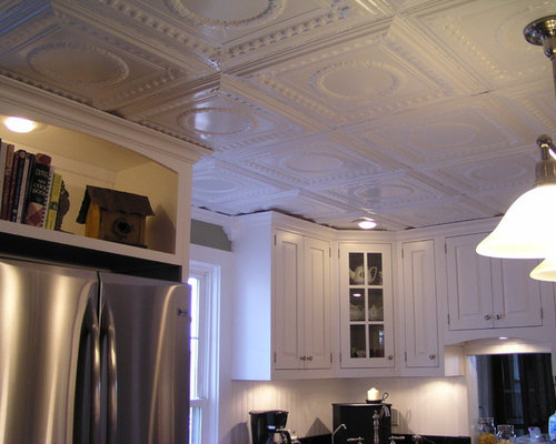 Painted Tin Ceiling Houzz