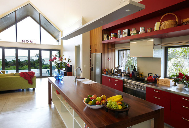 Contemporary Kitchen by Context Architects