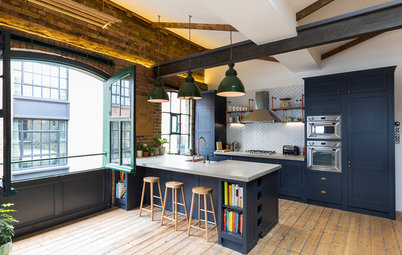 Houzz Tour: An Open-plan Flat in an East London Warehouse