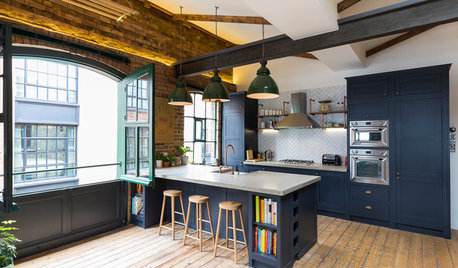 Houzz Tour: Fun Open-Plan Style Remakes a Former London Warehouse