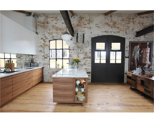Warehouse conversion home design ideas pictures remodel - Warehouse remodeled into house ...