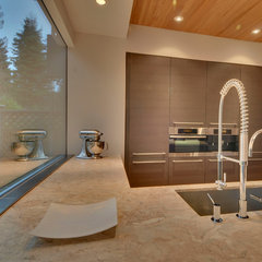 contemporary kitchen by Verge Architecture & Design, LLC