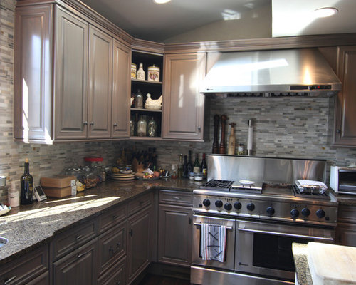 faux painting cabinets - Faux Kitchen Cabinets