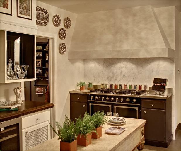 Rustic Kitchen by Spyglass Design, Inc.