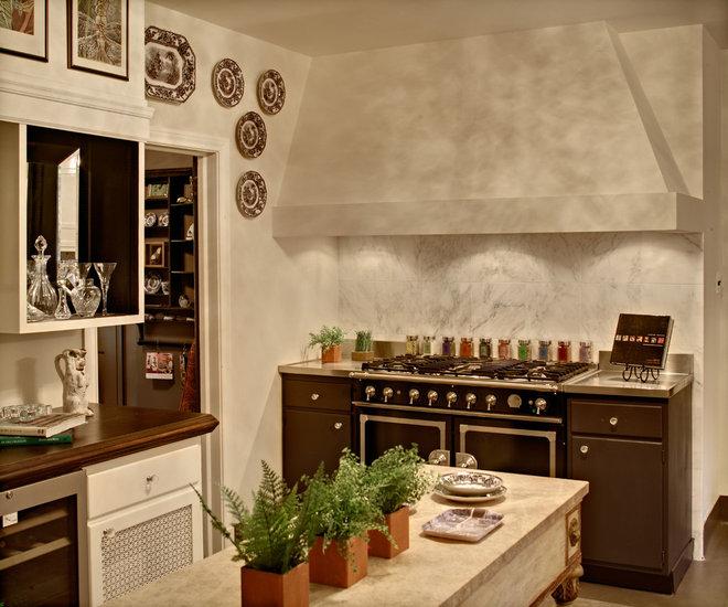 Rustic Kitchen by William V. Noval