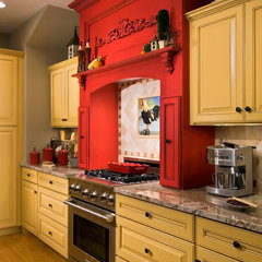 eclectic kitchen by Witt Construction