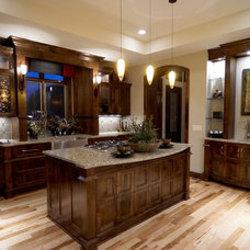 Eclectic Kitchen by Advanced House Plans