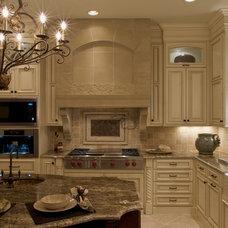 Mediterranean Kitchen by Falcone Homes