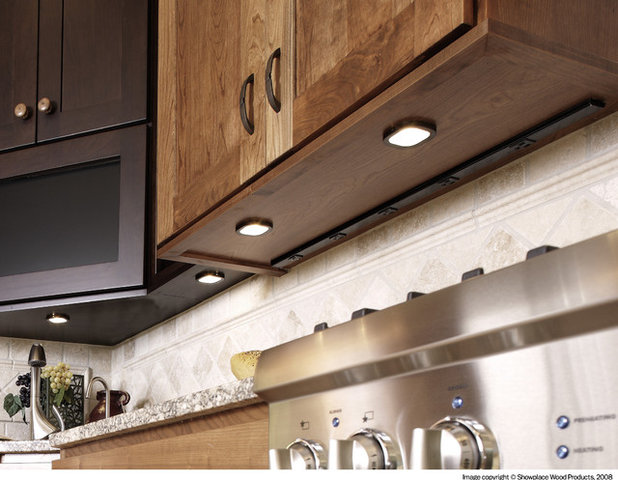 American Traditional Kitchen by Showplace Cabinetry