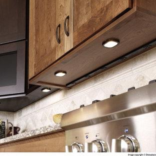 Elegant kitchen photo in Other