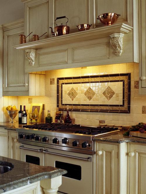 Best Shelf Under Range Hood Design Ideas & Remodel Pictures | Houzz