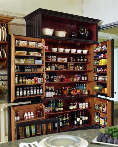 Vorratsschrank küche weiß  Vorratsschrank: 11 Ideen, wie Sie Lebensmittel in der Küche lagern