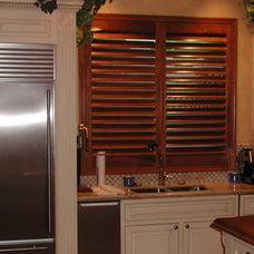 Contemporary Kitchen by Solar Shading Systems