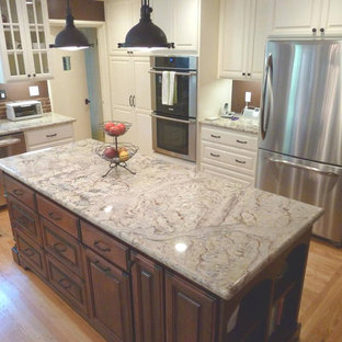 Sienna Bordeaux Granite Countertops Inspiration For A Timeless Kitchen Remodel In San Francisco
