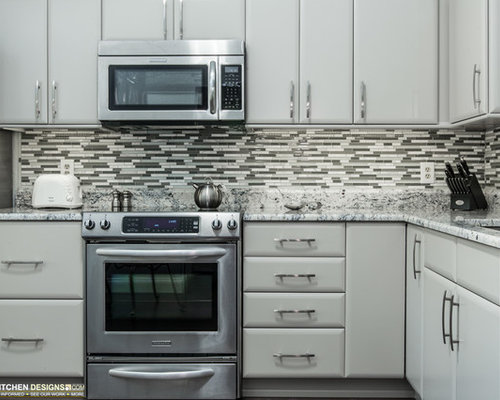 Contemporary kitchen design ideas renovations photos for Cabico kitchen cabinets reviews