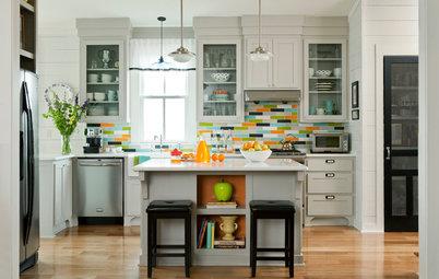 Kitchen of the Week: Color Bursts Enliven an Arkansas Kitchen