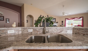 Sienna Bordeaux Granite Kitchen Countertops