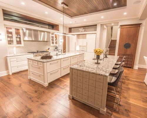 Ideas para cocinas fotos de cocinas ex ticas con suelo - Suelos de madera clara ...