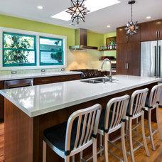 Contemporary Kitchen by Lauren Brandwein