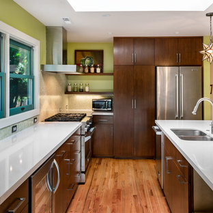 Dark Kitchen Cabinets | Houzz