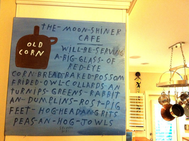 Eclectic Kitchen sign