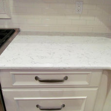 Traditional Kitchen silestone lyra countertop