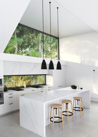 Modern Kitchen by Silestone by Cosentino