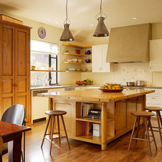 Contemporary Kitchen by Staprans Design