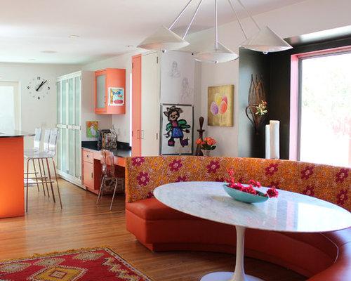 Images de décoration et idées déco de maisons banquette table