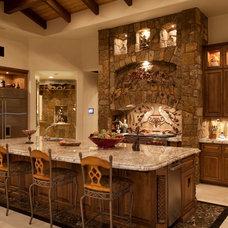 Mediterranean Kitchen by JDM Countertops, Inc.