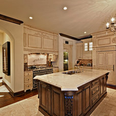 Mediterranean Kitchen by Hendricks Construction