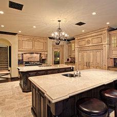 Mediterranean Kitchen by Hendricks Construction