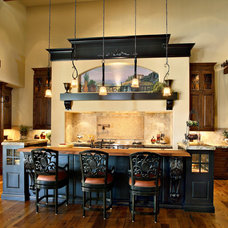 Mediterranean Kitchen by Fisher Custom Homes
