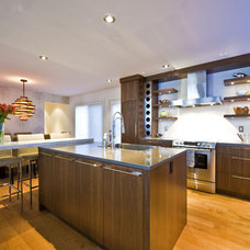 Contemporary Kitchen by Sticks and Stones Design Group inc.