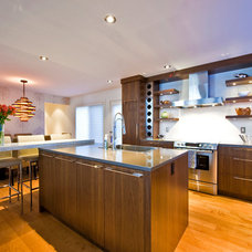 Contemporary Kitchen by Sticks and Stones Design Group Inc