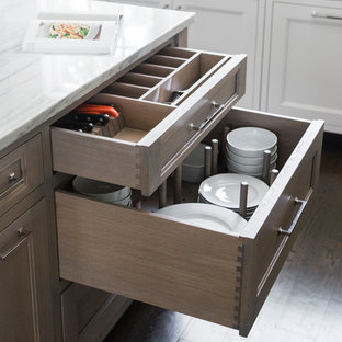 Silverware and Dish Storage Drawers