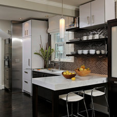 Contemporary Kitchen by Jennifer Gilmer Kitchen & Bath