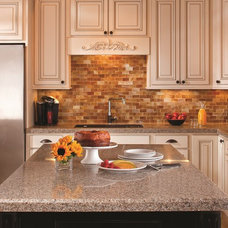 Traditional Kitchen by Granite Transformations Atlanta