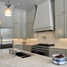 Traditional Kitchen by Palatial Stone and Tile, LLC