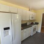 Simple White Galley Kitchen simple white galley kitchen - traditional - kitchen - minneapolis