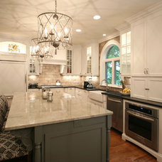 Contemporary Kitchen by Walker Woodworking